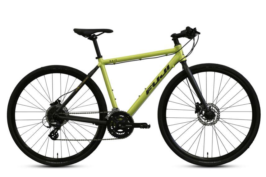 Fujiの定番クロスバイク Raiz に待望のディスクモデルが登場 サイクルスポーツがお届けするスポーツ自転車総合情報サイト Cyclesports Jp 自転車 スポーツ自転車 バイク