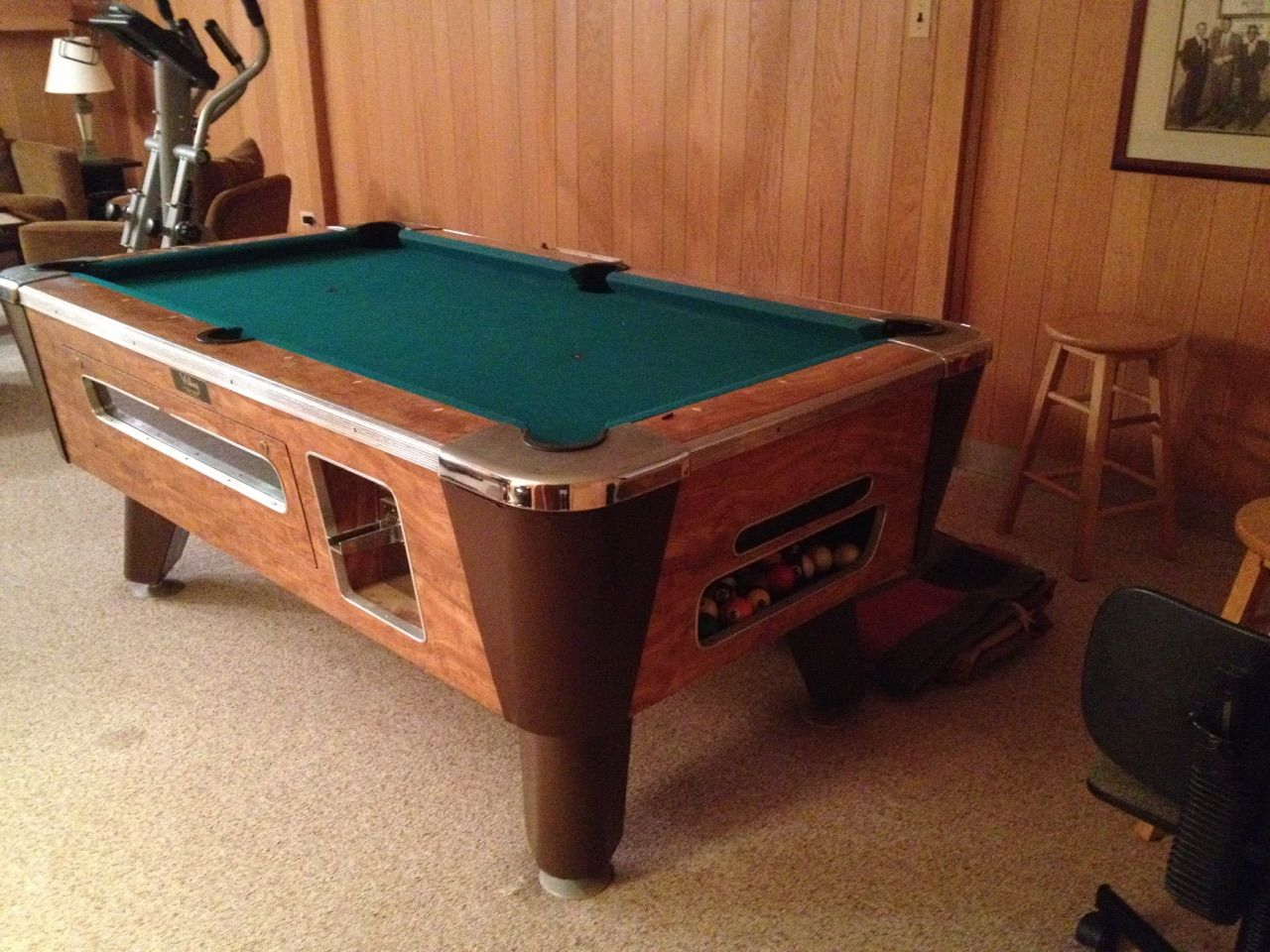 Valley Bar Box Pool Table Sold Sold Used Pool Tables Billiard - Valley bar pool table for sale
