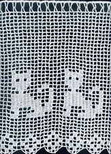 bistrogardine scheibengardine h kelgardine katzen katze 50x28 cm wei 100 bw katzen. Black Bedroom Furniture Sets. Home Design Ideas