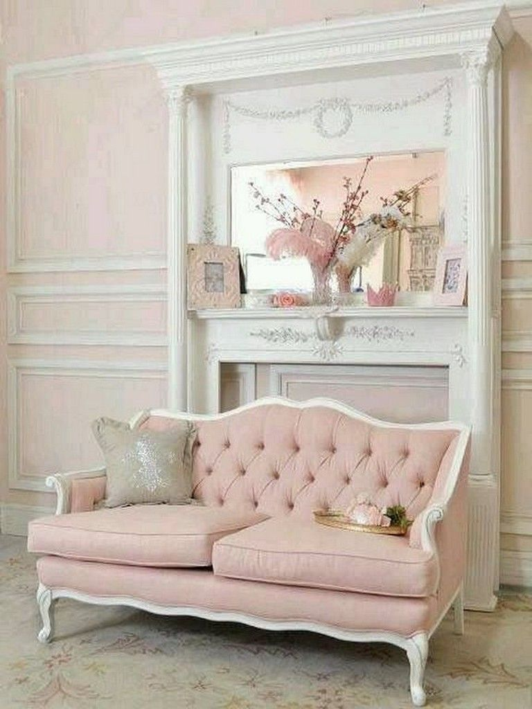 7+ Lovely Shabby Chic Chair Design Ideas for Living Room