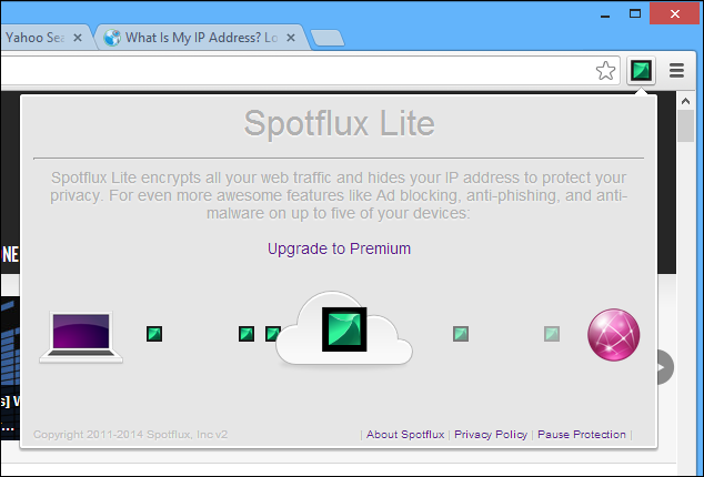 Get A Free VPN Right Within Chrome With Spotflux Safe