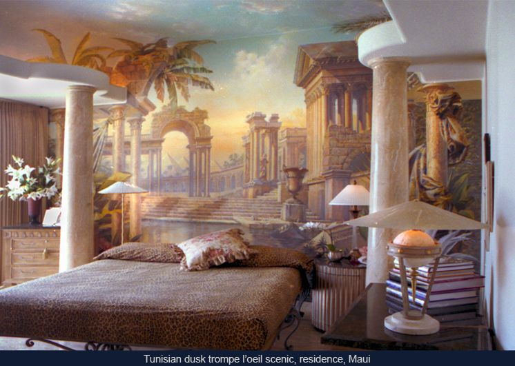 Wall Murals, Muralists, Painters, Scenic Artists, Trompe Lu0027oeil . Home Design Ideas