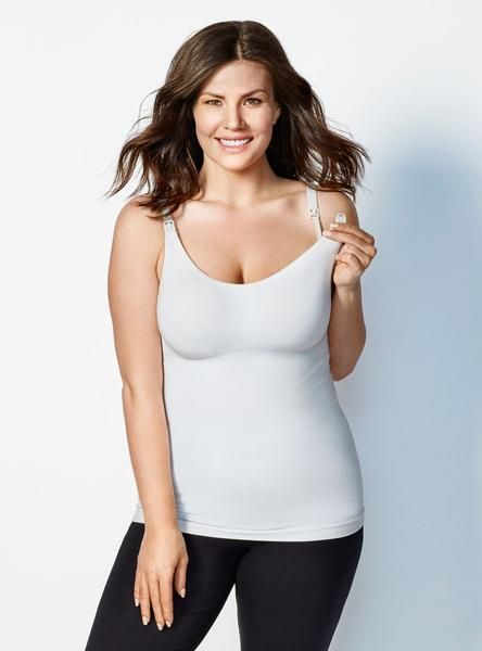 950e0017859e4 Full length smoothing cami with Body Silk Seamless Nursing Bra knitted  right in!