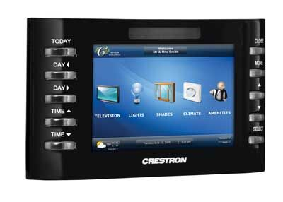 Crestron Releases High Powered Poe Tpmc 4sm Touchpanel Media Center Prlog Media Center Higher Power Home Automation System