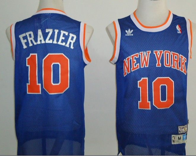 finest selection d9832 a89b7 Adidas NBA Mitchell Ness New York Knicks 10 Walt Frazier ...