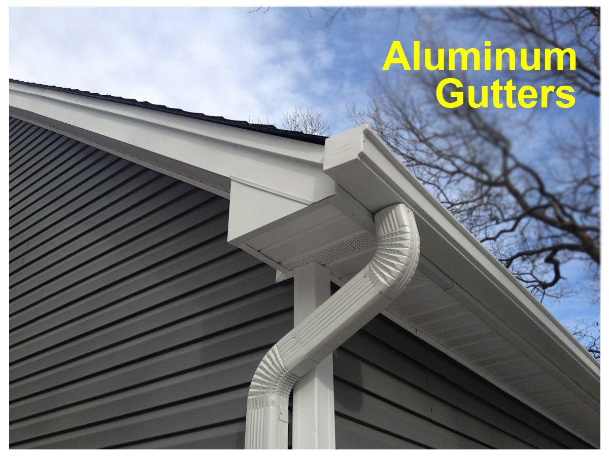 Long Island Aluminum Gutters Gutters Gutter Repair How To Install Gutters