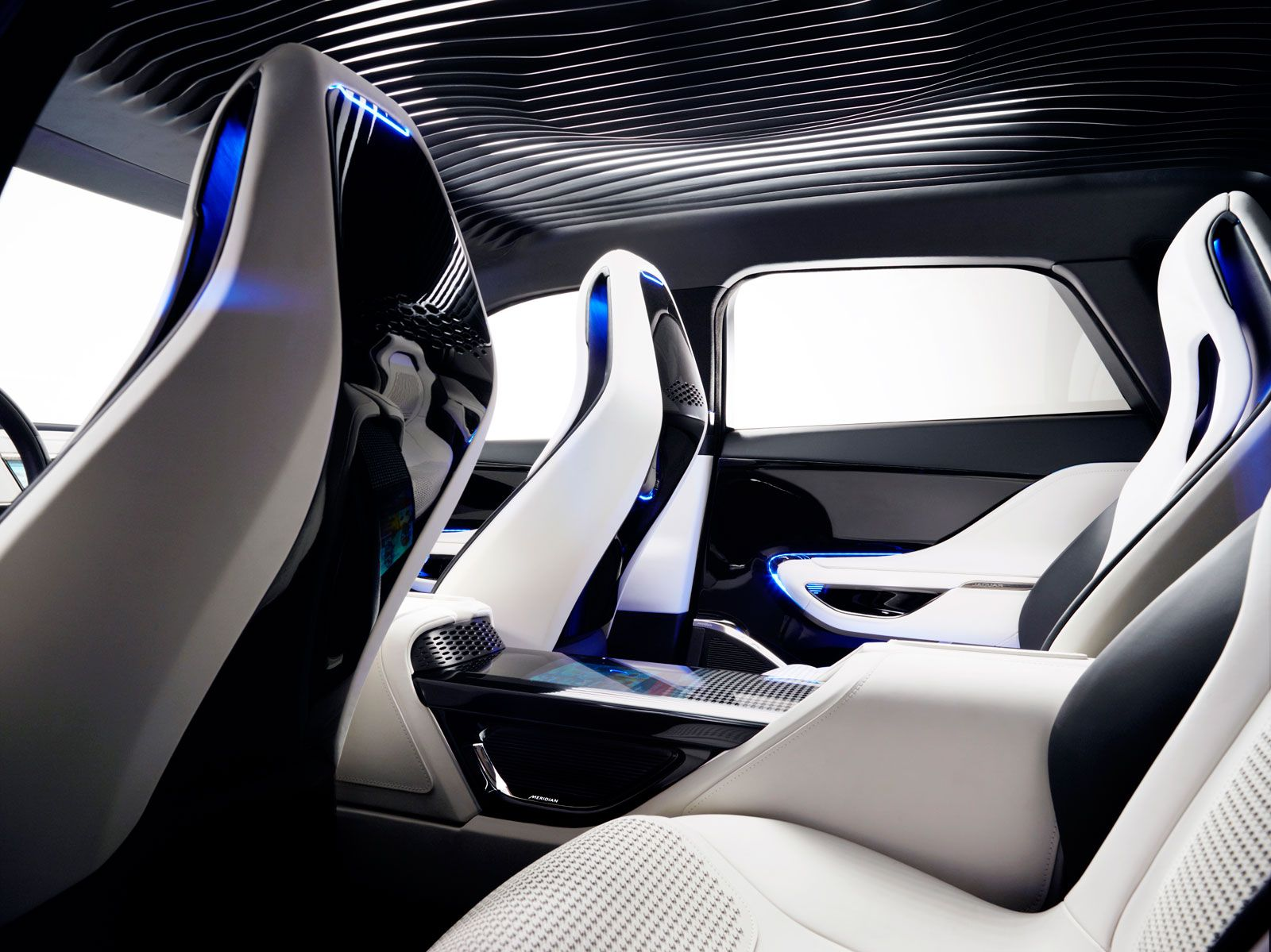 Jaguar C X17 Concept Interior