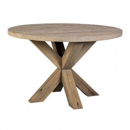 Table Ronde En Chene Camarat Victoria Meuble De Campagne Table Ronde Bois Table Chene Massif Table