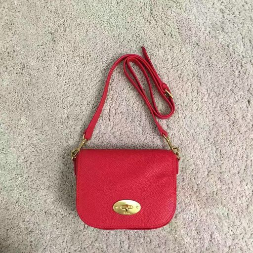 9019dda370 ... australia 2017 spring mulberry small darley satchel fiery red classic  grain leather mulberry outlet uk team