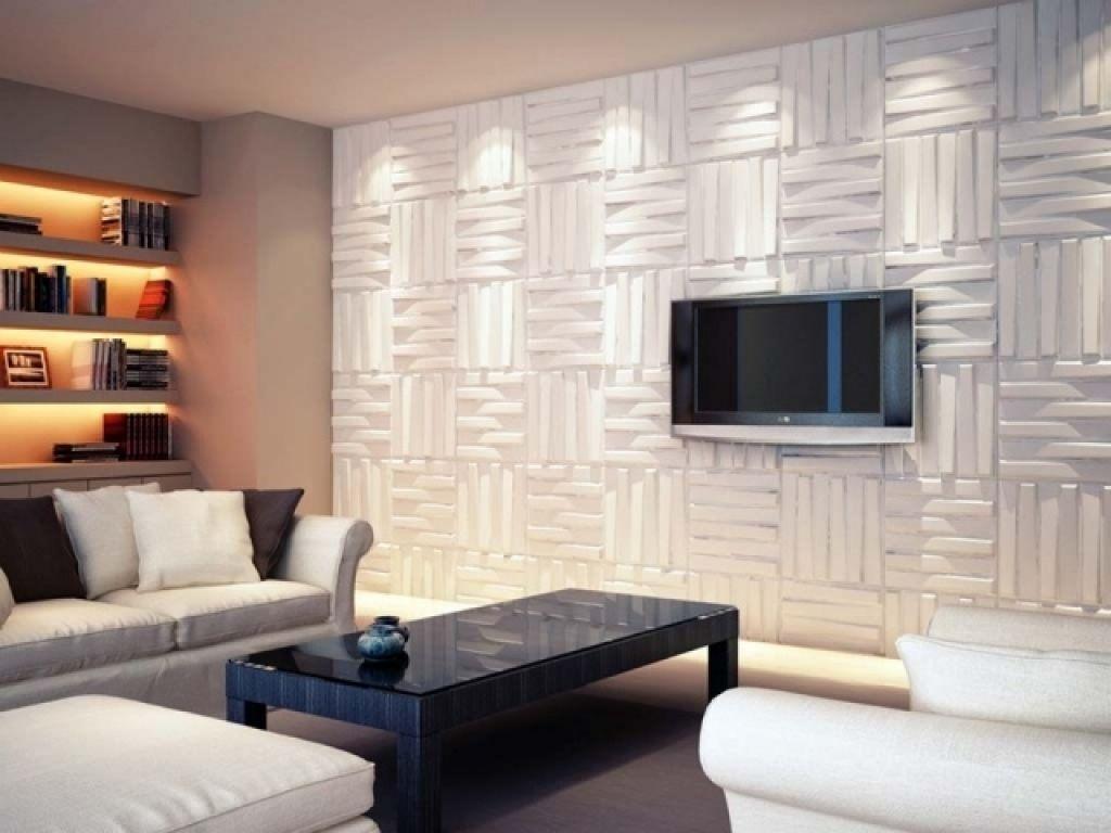moderne wohnzimmer wandgestaltung 93 ideen zur wandgestaltung mit holzsteintapete und mehr. Black Bedroom Furniture Sets. Home Design Ideas