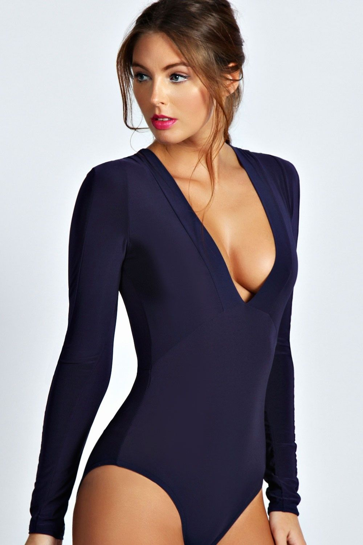 Lace bodysuit boohoo  Sousjacent Terrelosange  My Style  Pinterest  Curvy women
