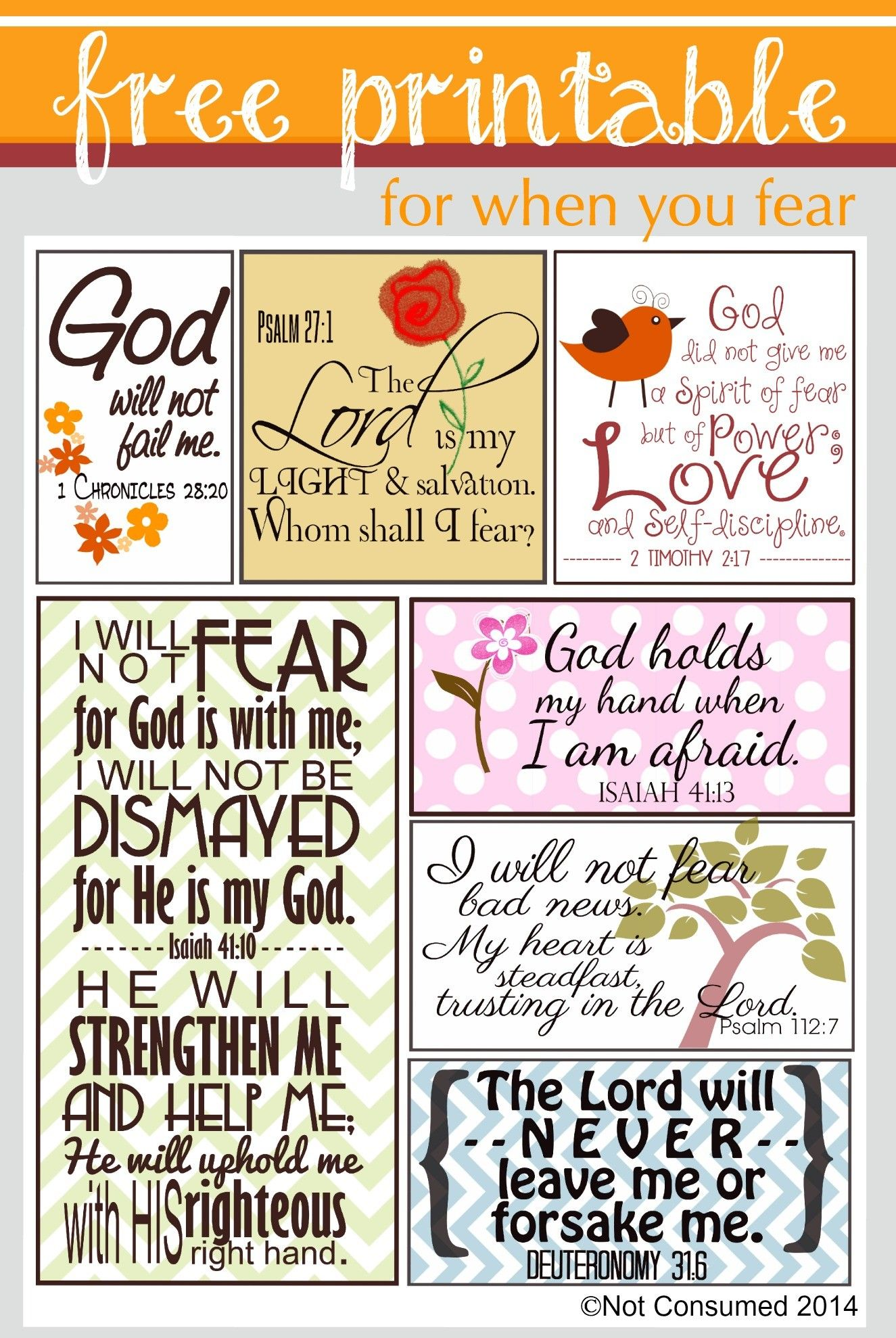 Divine image with regard to free printable scripture verses