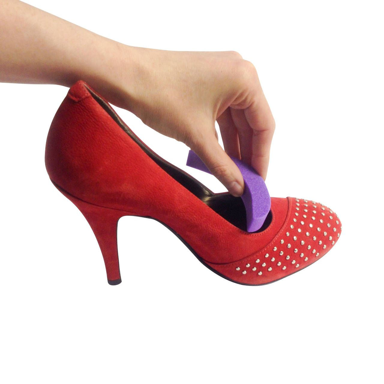 Red Black and Oak! Woman/'s High Heel Shoe Sole Gripper-Protector