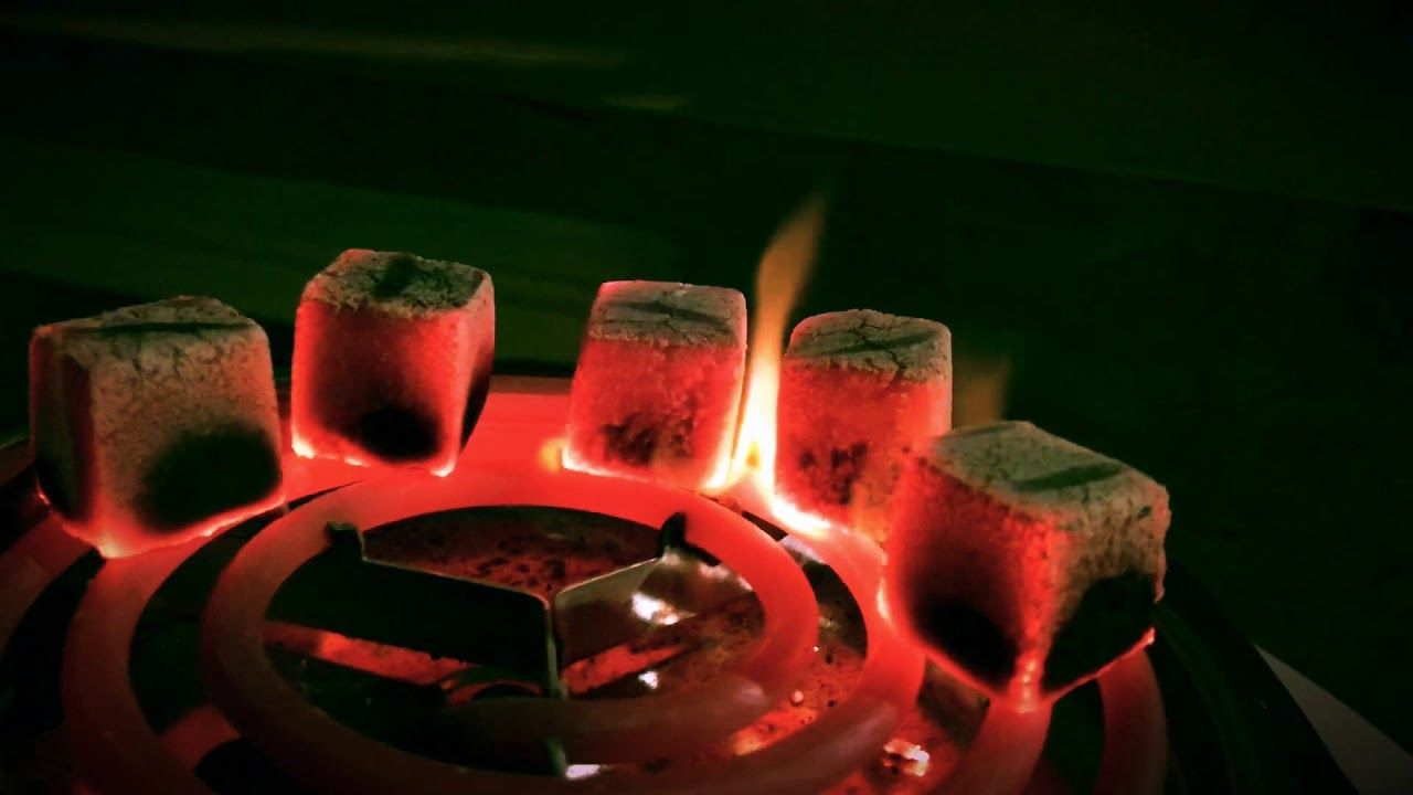 How To Light Hookah Coals Properly (Natural Coconut Hookah