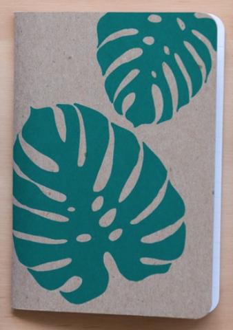 Monstera Leaf Notebook ~ Notebook