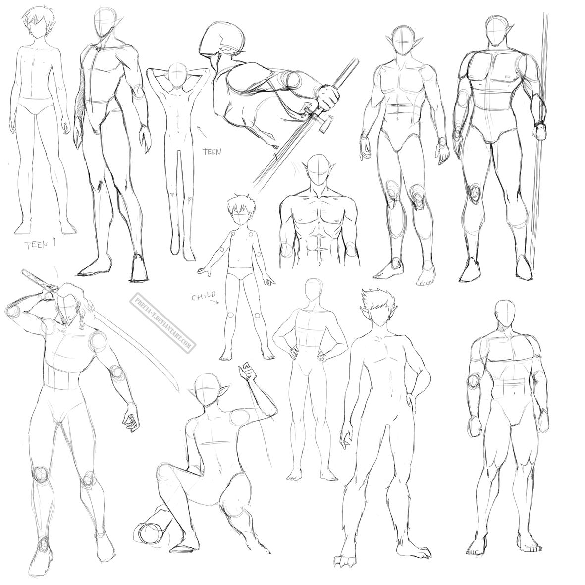 Male Anatomy By Precia T On Deviantart Anatomy Sketches Drawing Poses Male Drawings