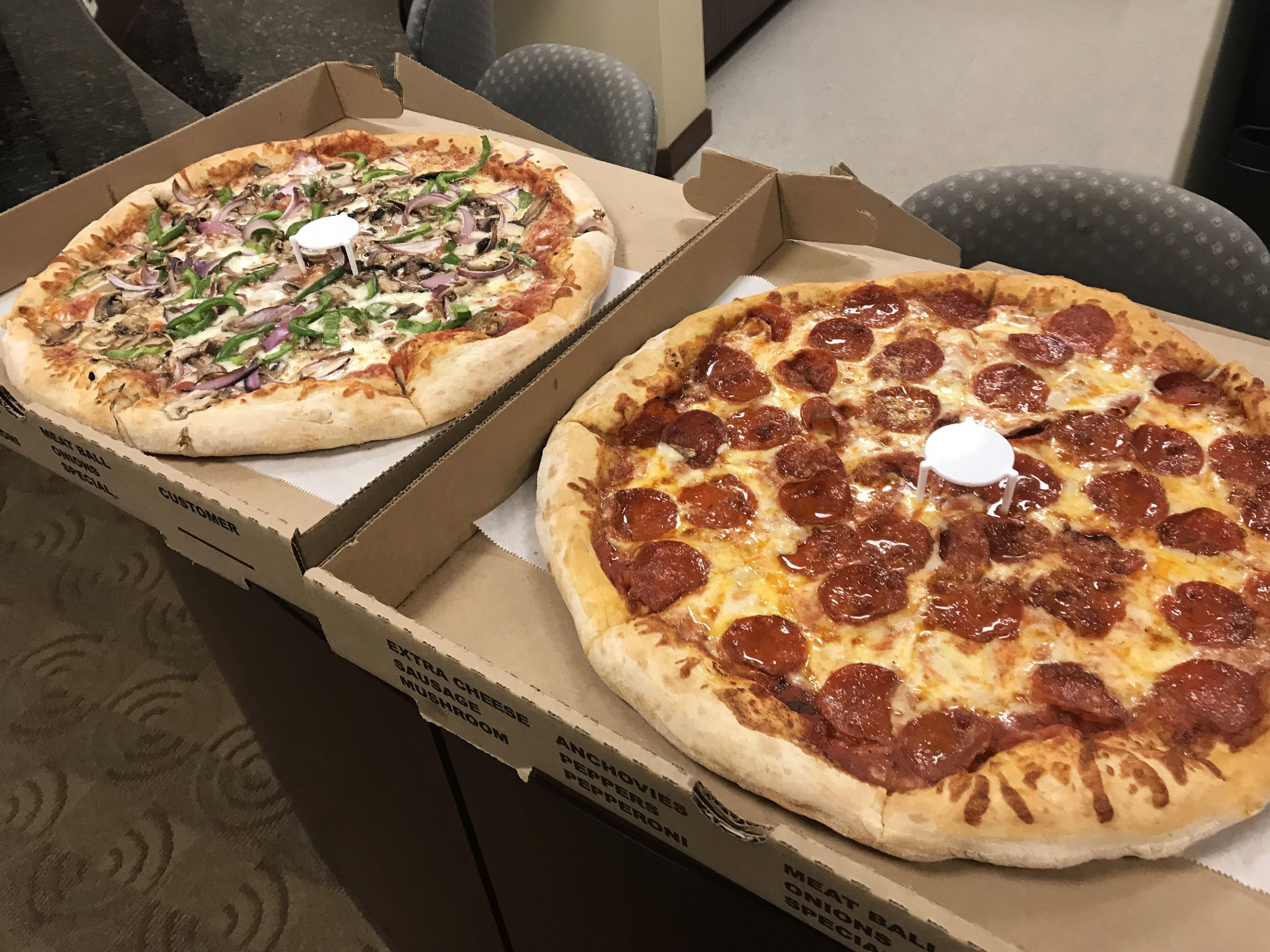 Clientappreciation pizza delicious pepperoni thankful