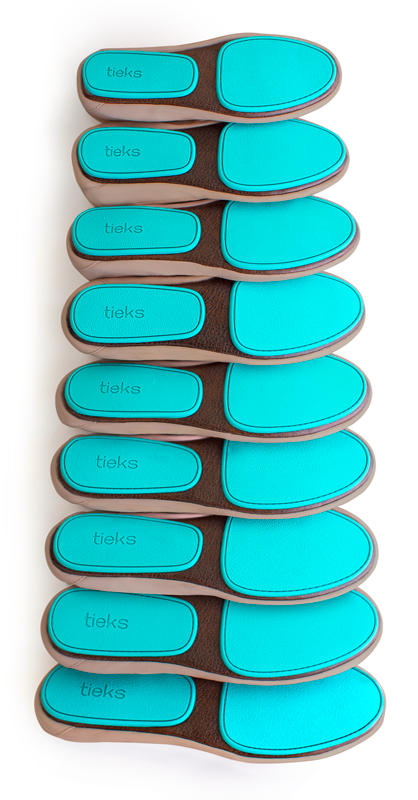 4dbcc8d7c7d Narrow, wide, or anywhere in between, Tieks stretch and mold to every foot  for the perfect fit! | Tieks Ballet Flats
