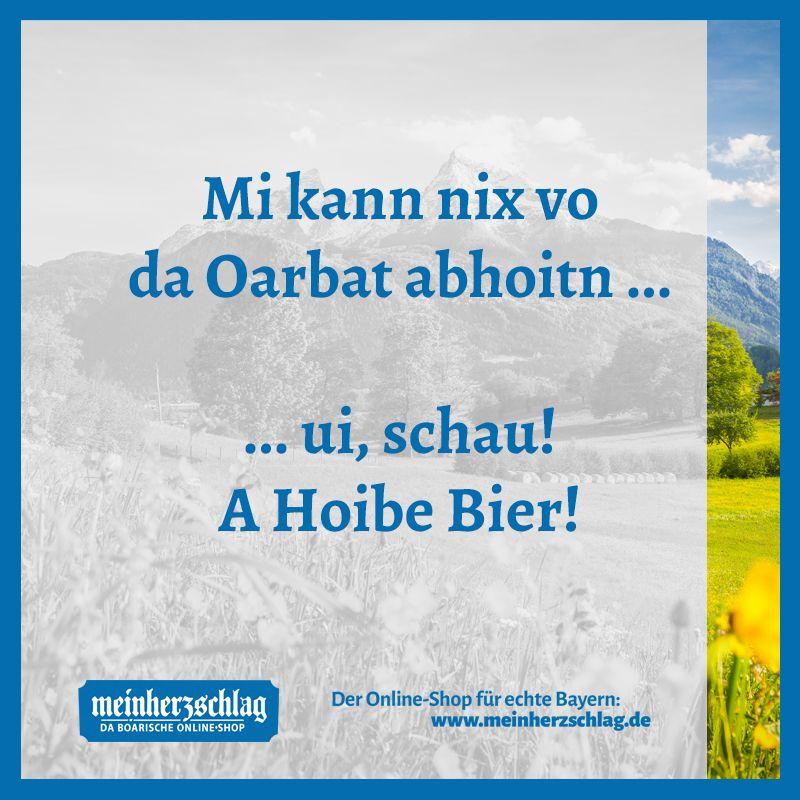 Pin Von Meinherzschlag De Auf Boarische Spruch Bayerische Geschenke Online Bier