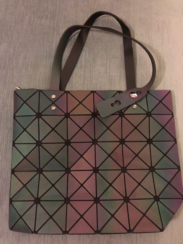Women Handbags bao bao Bag Geometry Luminous Folding Shoulder Bags Tote  small  fashion  clothing  shoes  accessories  womensbagshandbags (ebay link) 94f80c7d7ab69