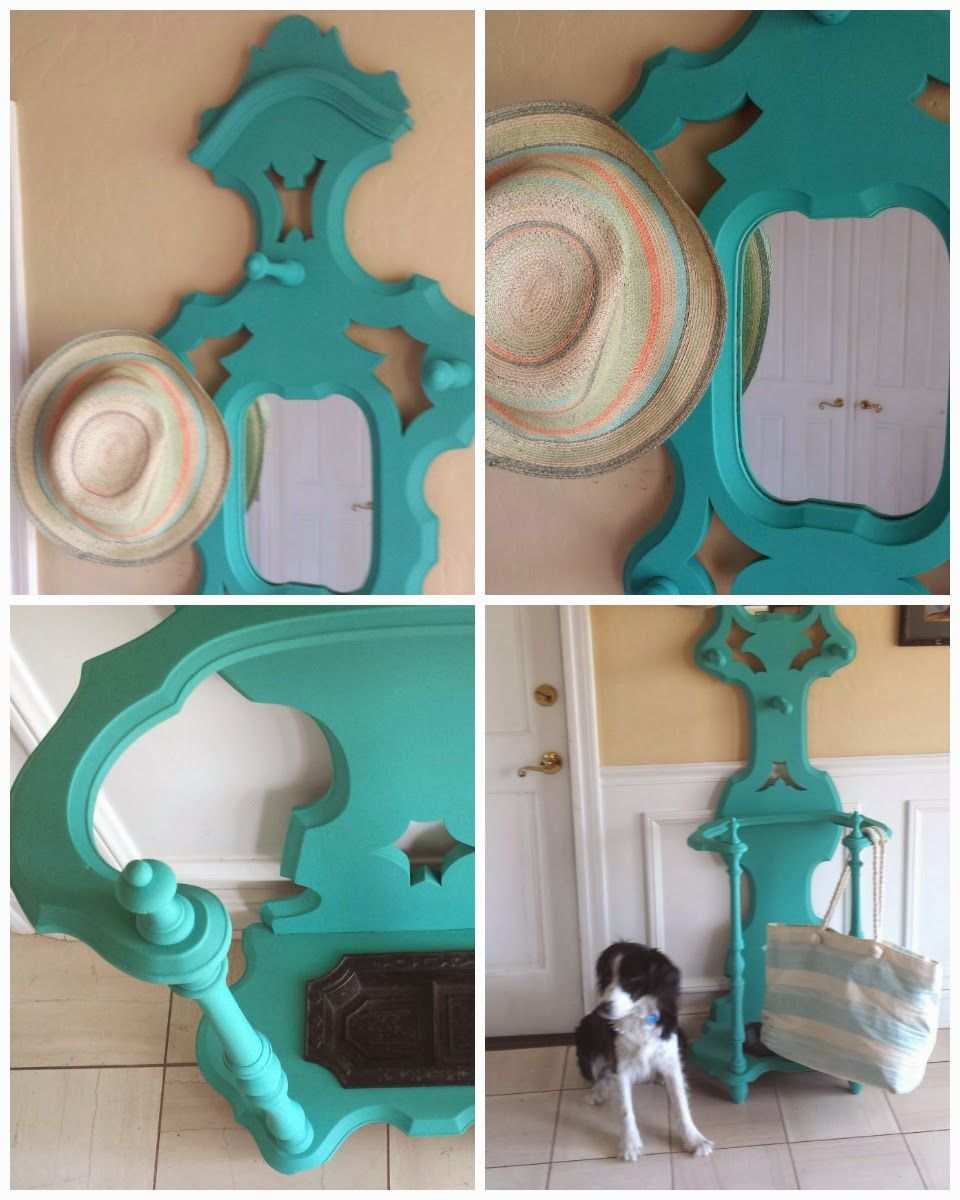 easy to do chalk paint project with custom color