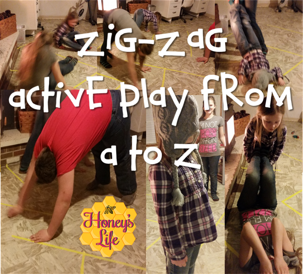 Zig Zag Gross Motor Activities For Toddlers To Teens