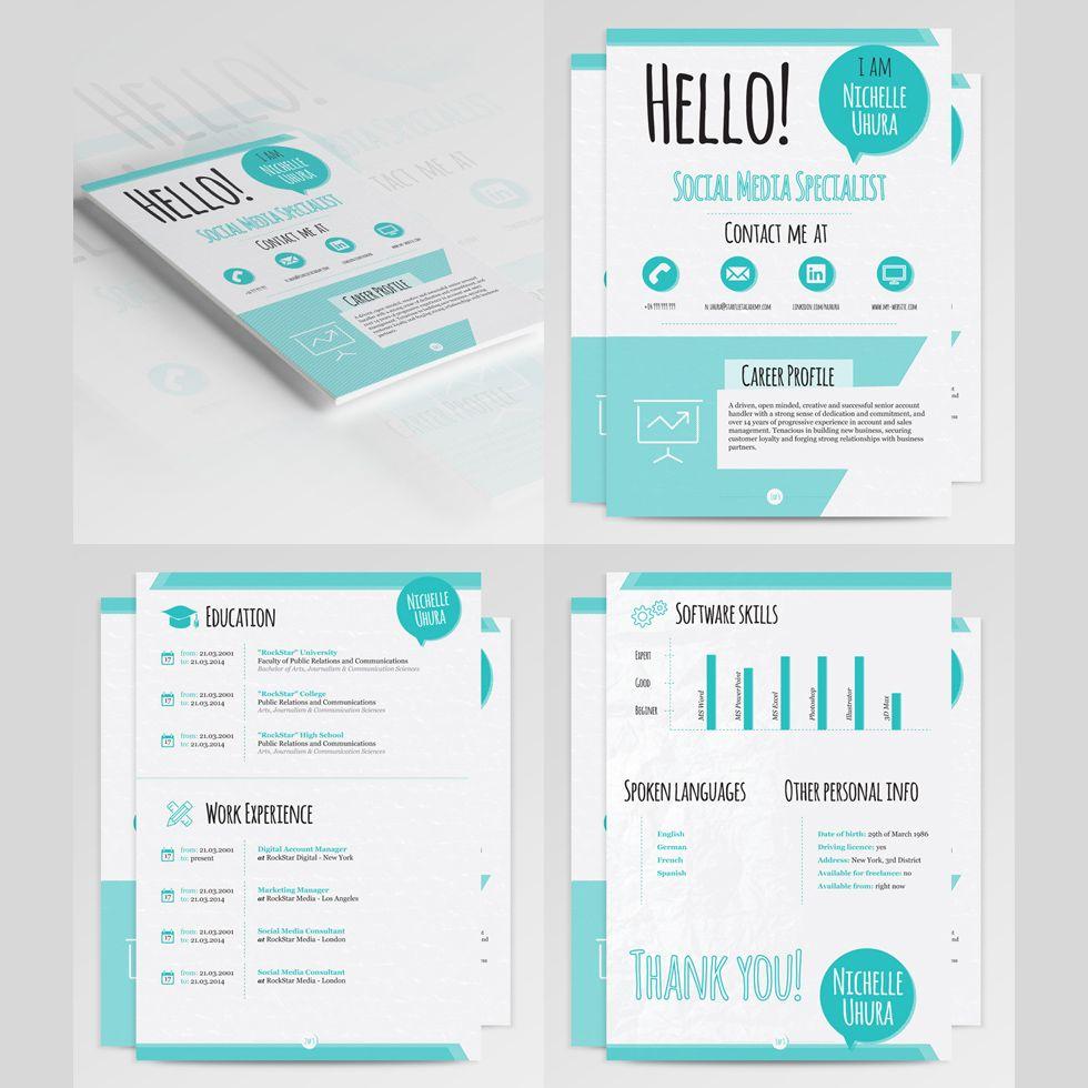 3 Resume Templates Bundle | Portafolio