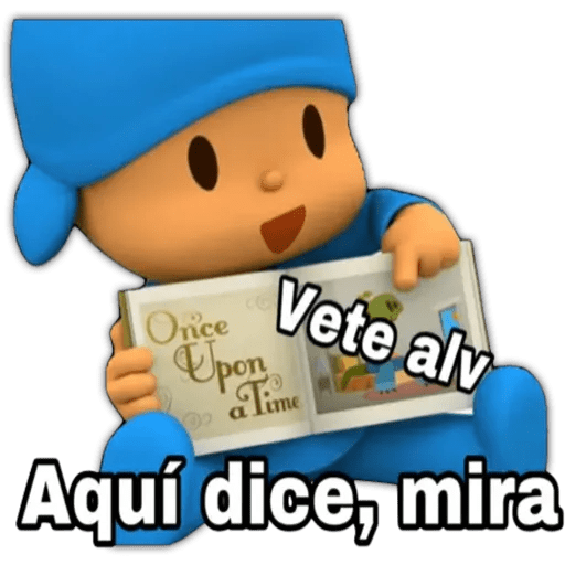 Pocoyo 2 Mexican Funny Memes Funny Memes Make Your Own Stickers