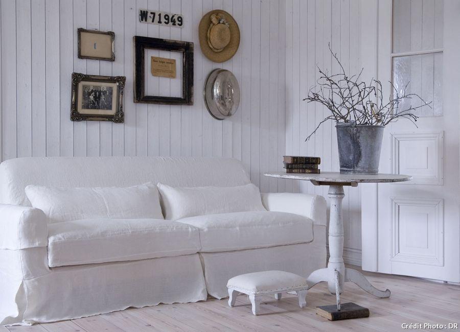 housse de canapé blanche Quand le blanc inspire la déco | Pinterest housse de canapé blanche