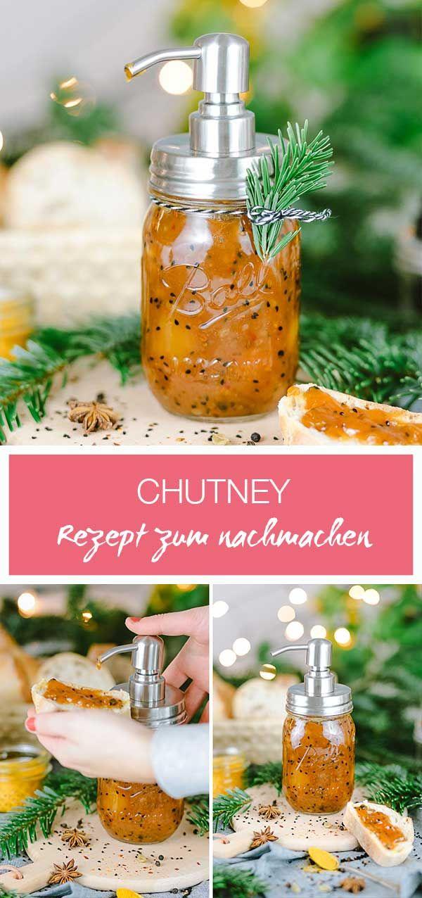 Indisches Chutney zum nachmachen // Geschenk aus deiner Küche mit ...