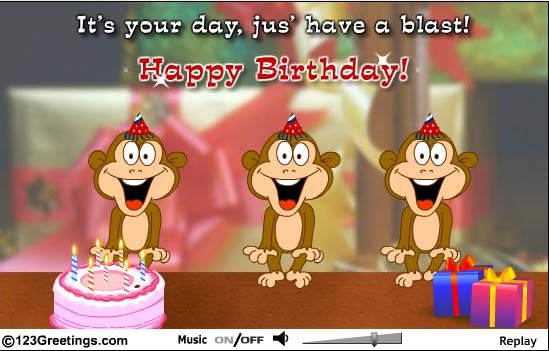 From Olga So Sweet Singing Birthday Cards Animated Birthday Cards Free Singing Birthday Cards