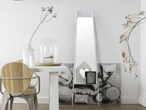 Zuiver Leaning Spiegel : Zuiver leaning mirror mobila si finisaje ro eu