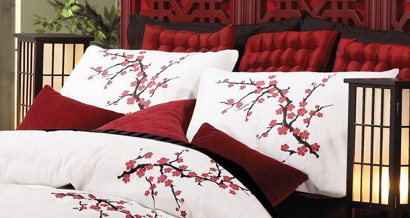 Japanese Cherry Blossom Bedroom Decoration Asian Bedroom Bedroom Decor Asian Home Decor