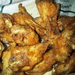 Lemon Pepper chicken wings... so easy and so good. These were a big hit at the Super Bowl party!