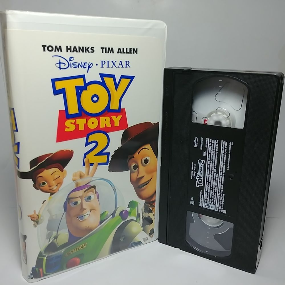 Disney Toy Story 2 Vhs Tape 2000 Very Clean Original Clamshell Hard Case Disney Vhs Tapes Vhs Movie Disney Toys