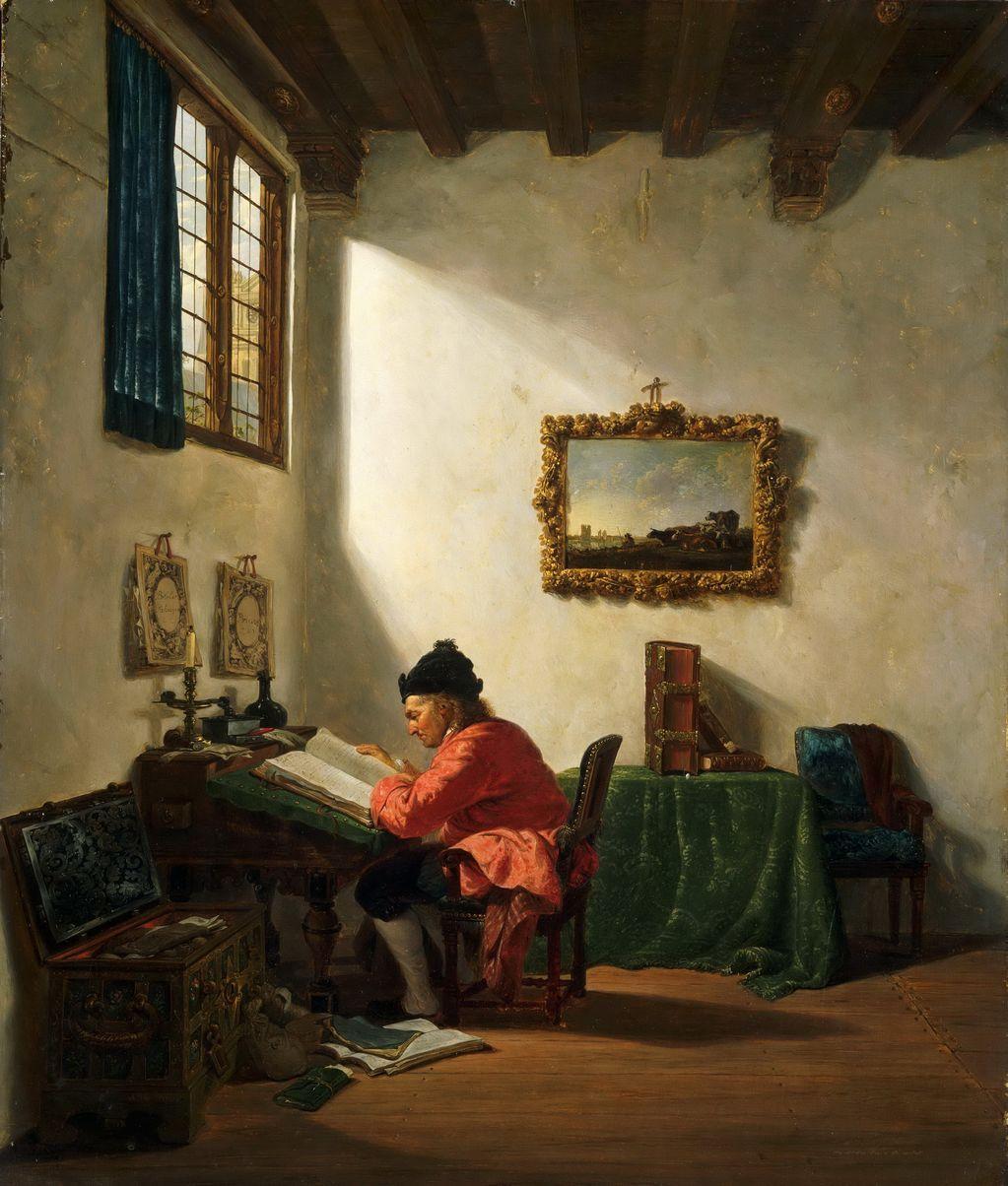 Abraham van Strij (1753-1826) —  Scholar (1023x1204)