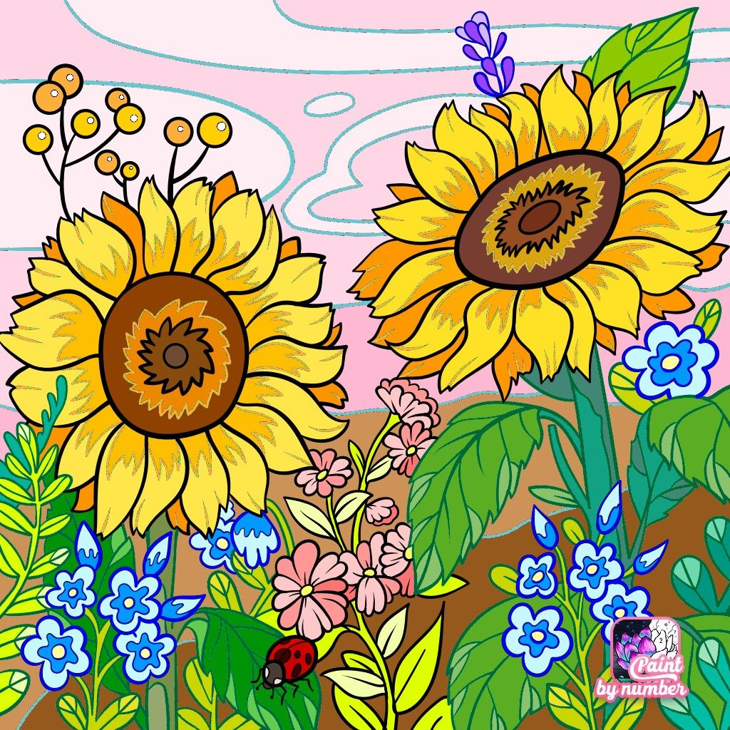 Pin by Светлана on MES COLORIAGES Paint by Number ...