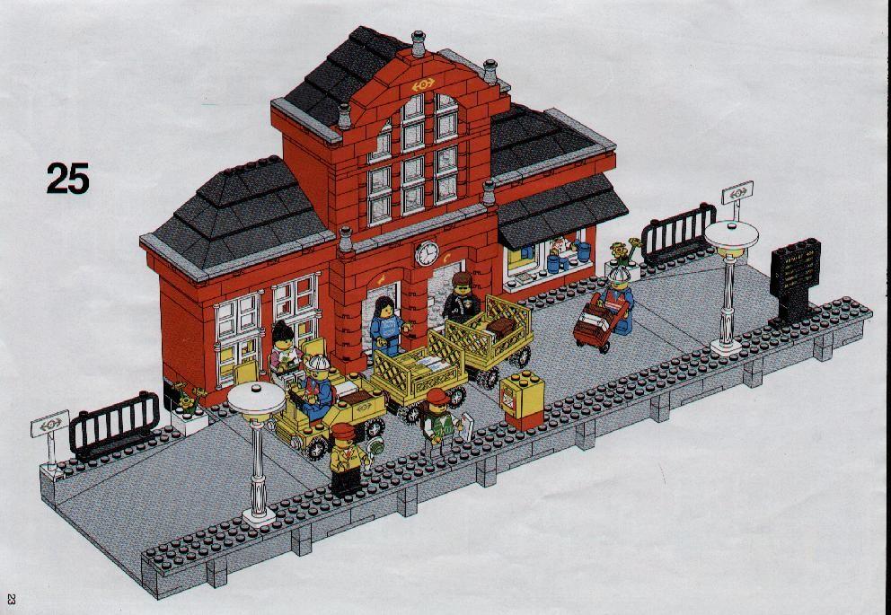 Train Station Instructions 5ths Pins Pinterest Lego Lego