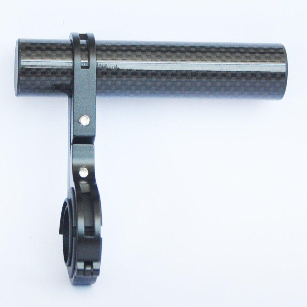 Bike Handlebar Extender Extension Carbon Fiber Bracket Aluminum Alloy Clamp