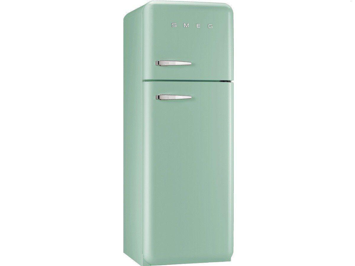 Retro Kühlschrank in tollem Mint - Smeg FAB30RV1 Kühl ...