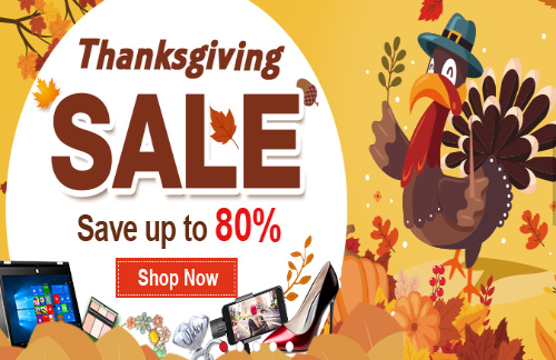 Light In The Box ThanksGiving Sale Up To 80% Off Http://couponscops