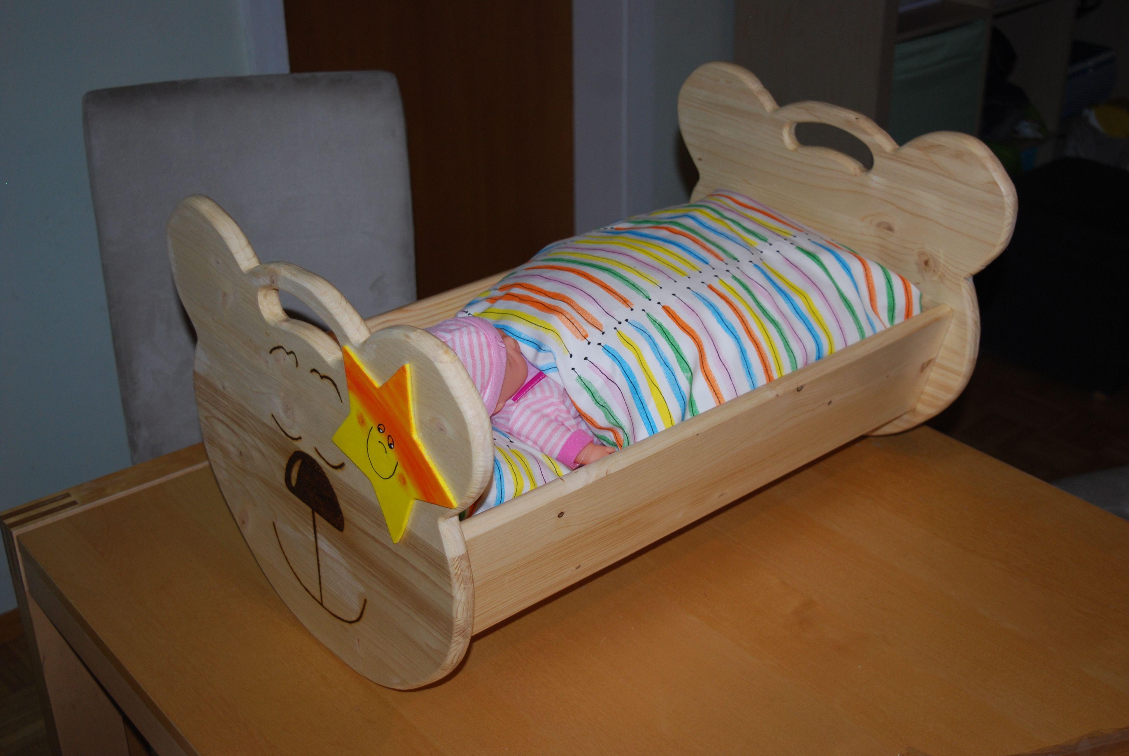 puppenwiege in xxl bauanleitung zum selber bauen hoizbastla s projekte. Black Bedroom Furniture Sets. Home Design Ideas