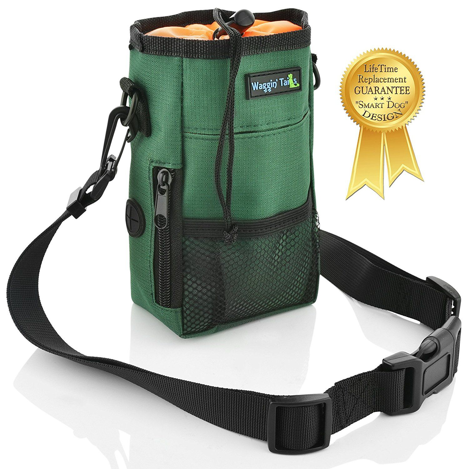 Waggin Tails Smart Dog Treat Pouch Bag For Dog Training Easy