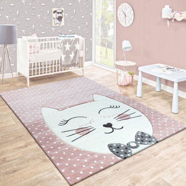 Teppich Malaptias in Rosa Teppich kinder, Kinderzimmer