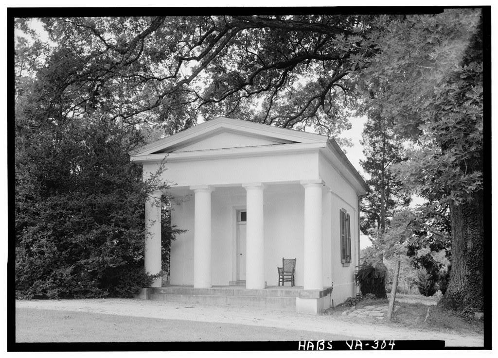 VA Berryhill outbuilding2 Antebellum homes, Southern