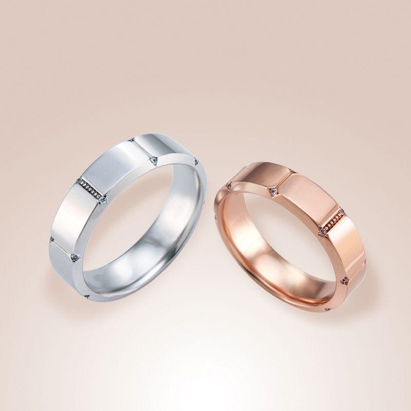 Couple ring - Andante | Ring / Engage | 결혼반지, 쥬얼리 및 반지