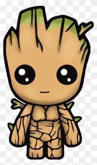 Groot Iamgroot Cute Kawaii Kawaiigroot Freetoedit - Am Groot Cute Baby Groot Guardians Clipart (#1984861) - PinClipart