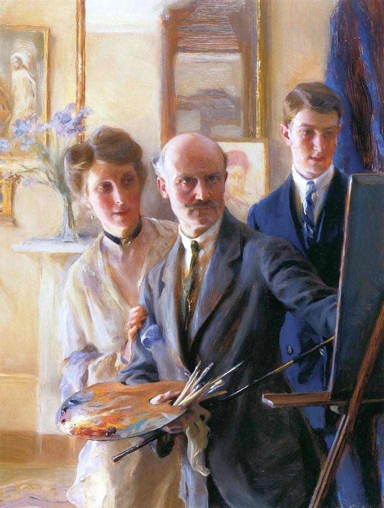 Philip de Laszlo (18691937), 1918 Fine art portraits