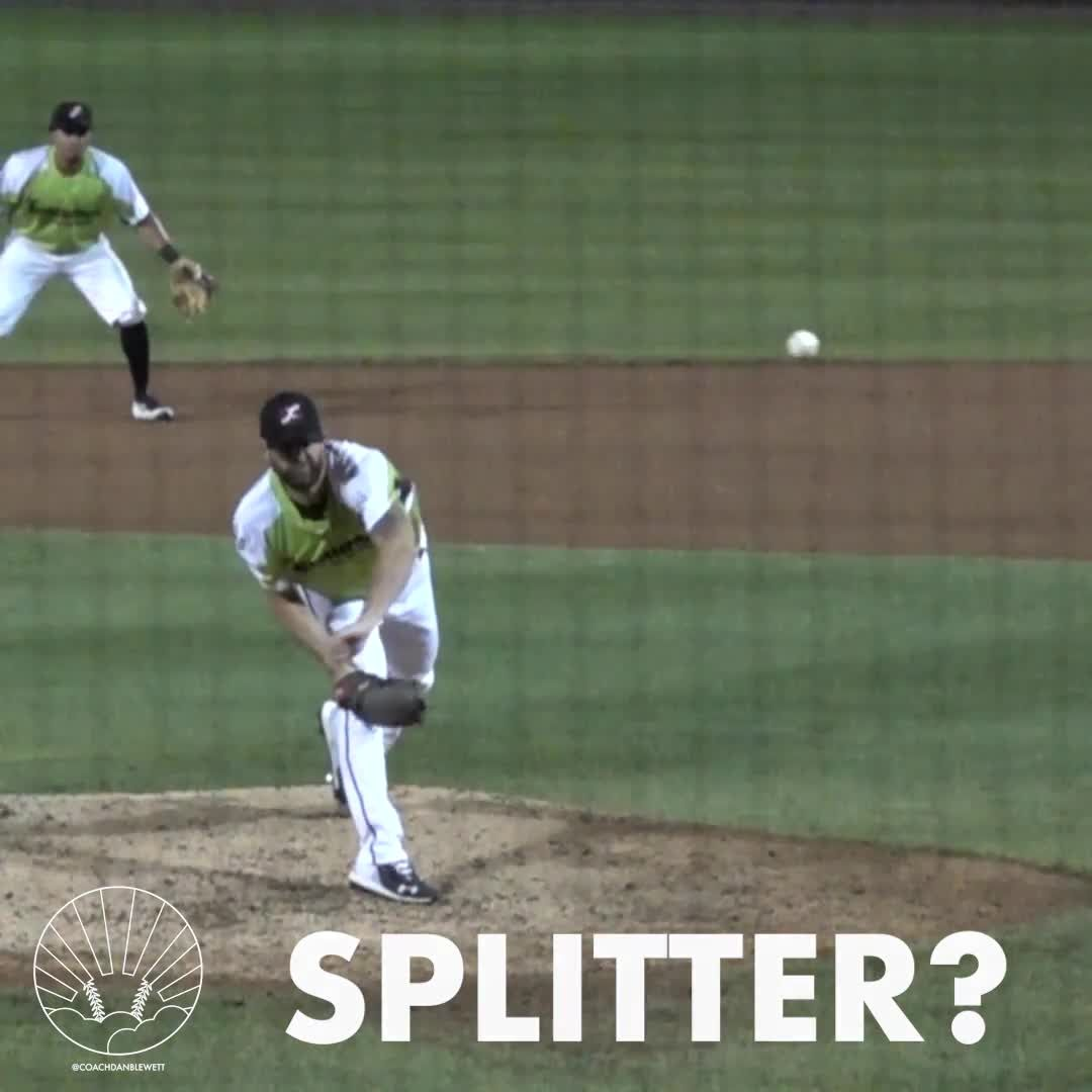 Is It A Splitter What Pitch Do You Think It Is For More Baseball And Pitching Videos Click Thro Baseball Game Outfits Baseball Training Best Baseball Player