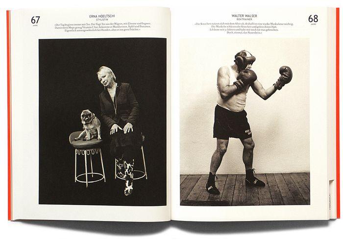 Migros Annual Report 2008 | Typographer: Roger Furrer | Concept: Studio Achermann, Zurich